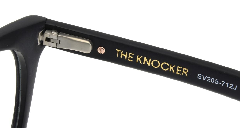 セイバー THE KNOCKER SV205-712J [黒縁/ウェリントン]  5
