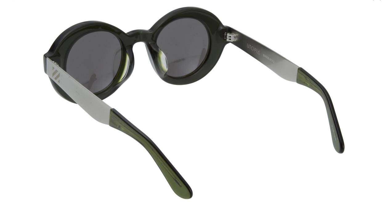 セイバー UTOPIA SV206-617J フルリム 緑 サングラス  メガネのオーマイグラス_2
