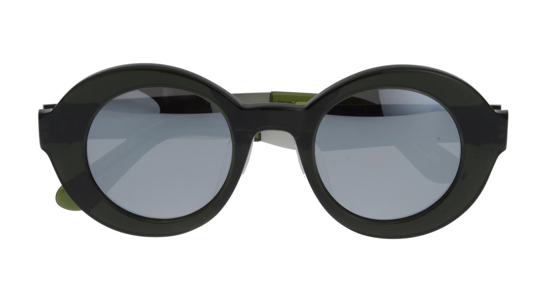 セイバー UTOPIA SV206-617J フルリム 緑 サングラス  メガネのオーマイグラス_3