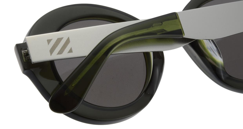 セイバー UTOPIA SV206-617J フルリム 緑 サングラス  メガネのオーマイグラス_4