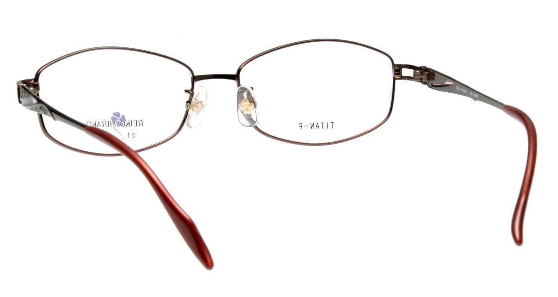レイコヒラコ RH-1654-9 フルリム 赤 フレーム  メガネのオーマイグラス_2