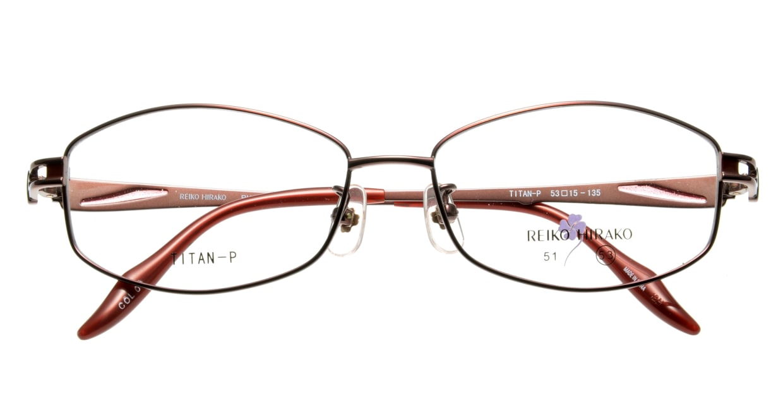 レイコヒラコ RH-1654-9 フルリム 赤 フレーム  メガネのオーマイグラス_3
