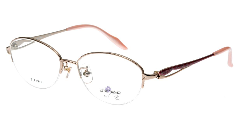 レイコヒラコ RH-1660-5 ハーフリム 肌色 フレーム  メガネのオーマイグラス_0