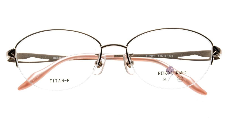 レイコヒラコ RH-1660-5 ハーフリム 肌色 フレーム  メガネのオーマイグラス_3