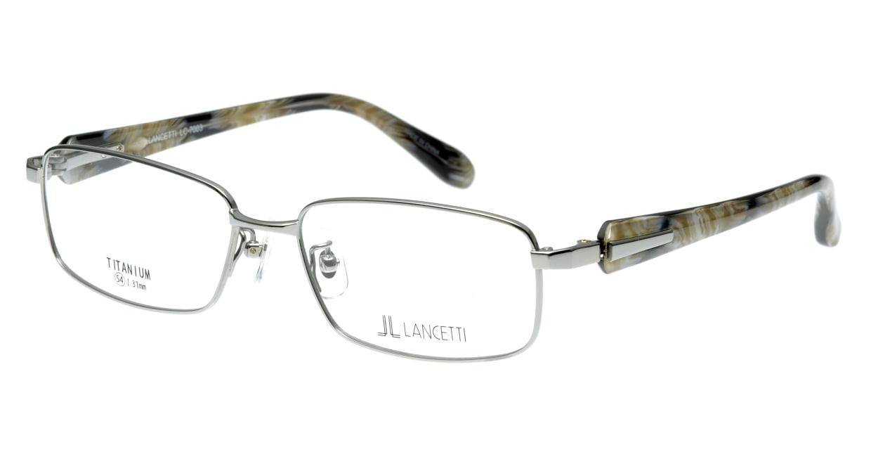 ランチェッティ LC-7003-4 フルリム シルバー フレーム  メガネのオーマイグラス_0