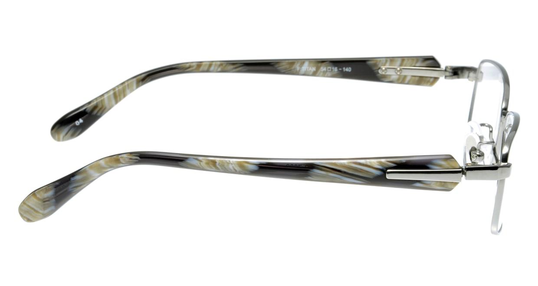 ランチェッティ LC-7003-4 フルリム シルバー フレーム  メガネのオーマイグラス_1