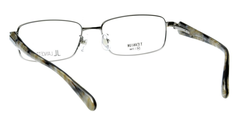 ランチェッティ LC-7003-4 フルリム シルバー フレーム  メガネのオーマイグラス_2