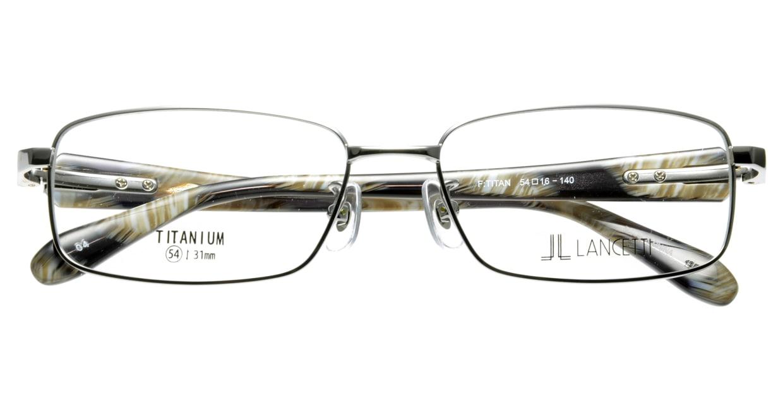 ランチェッティ LC-7003-4 フルリム シルバー フレーム  メガネのオーマイグラス_3