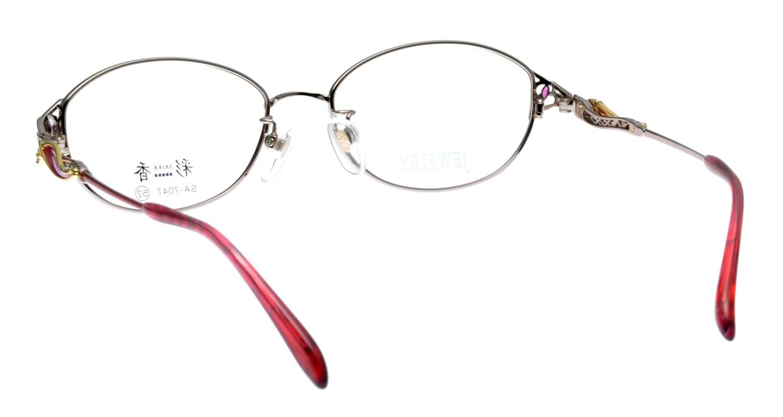 彩香 SA-7047-2 フルリム ピンク フレーム 日本製 メガネのオーマイグラス_2