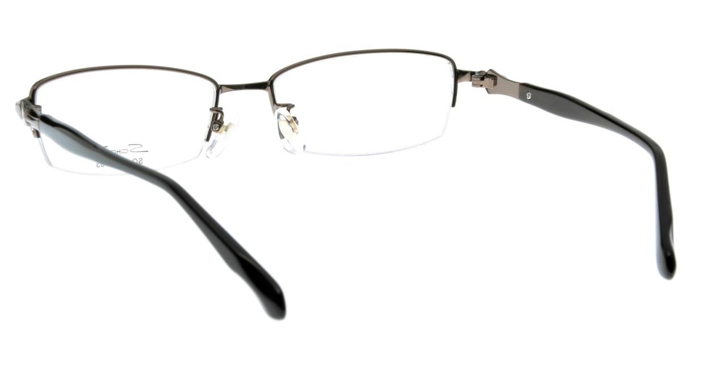 家メガネ SO-9574-1 ハーフリム 茶色 フレーム  メガネのオーマイグラス_2