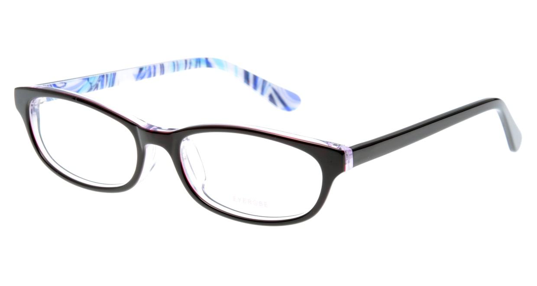家メガネ EB-7072-3 フルリム 紫 フレーム  メガネのオーマイグラス_0