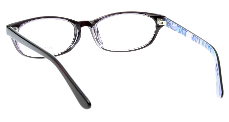 家メガネ EB-7072-3 フルリム 紫 フレーム  メガネのオーマイグラス_2