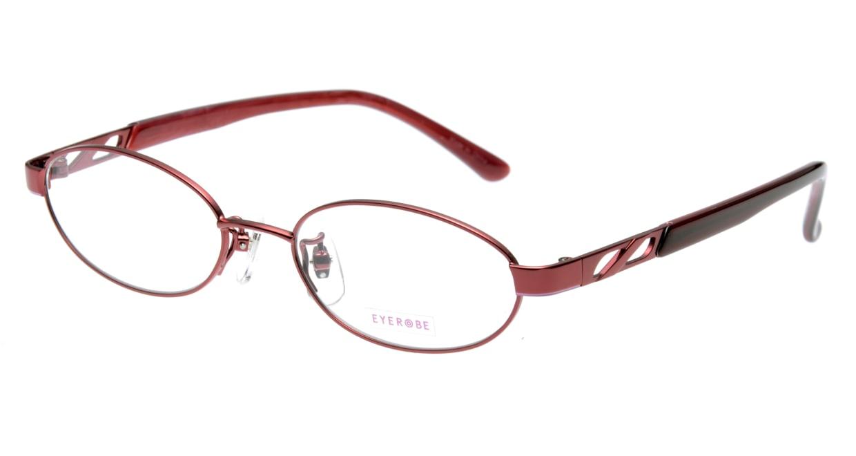 家メガネ EB-7580-2 フルリム 赤 フレーム  メガネのオーマイグラス_0