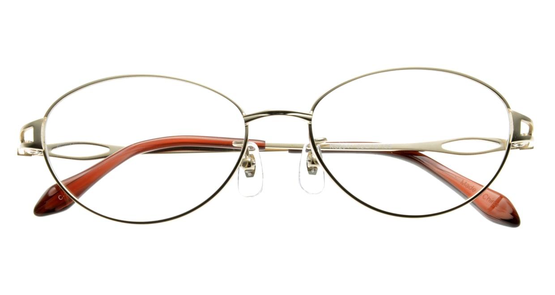 家メガネ KS-2041-1 [メタル/オーバル/安い/ゴールド]  3