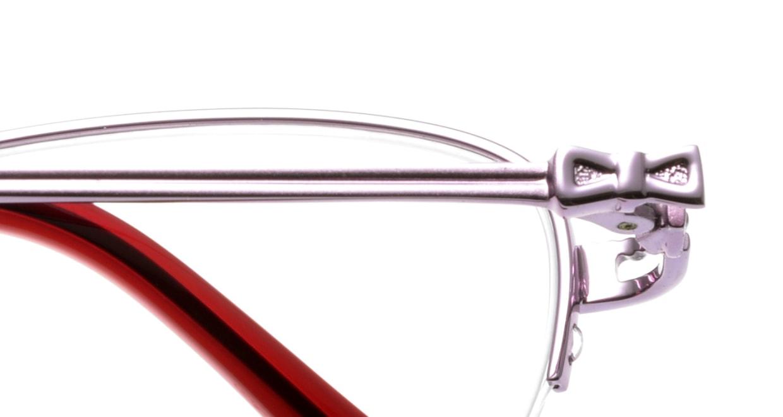 アンアン AA1127-2 ハーフリム 紫 フレーム  メガネのオーマイグラス_4