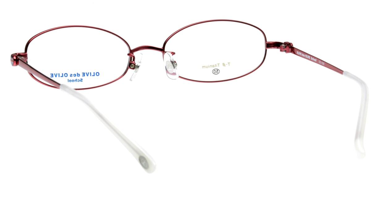 オリーブ・デ・オリーブ OD1099-2 フルリム 赤 フレーム  メガネのオーマイグラス_2