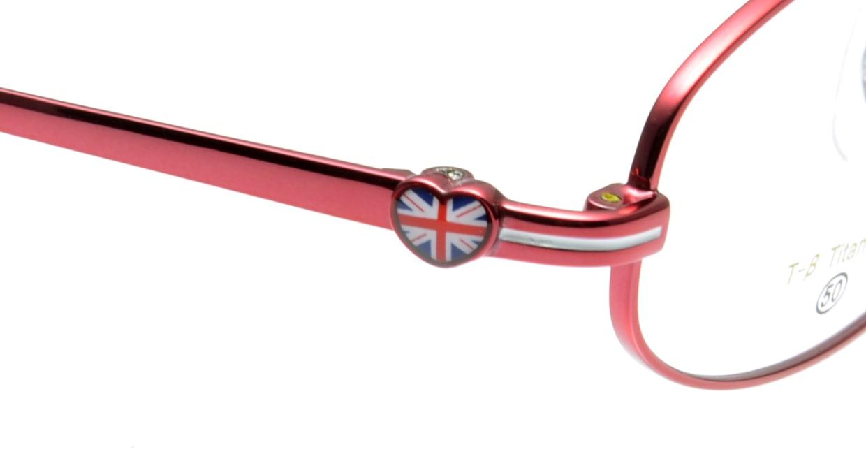 オリーブ・デ・オリーブ OD1099-2 フルリム 赤 フレーム  メガネのオーマイグラス_4