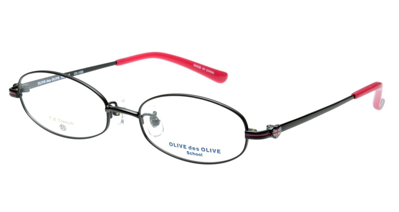 オリーブ・デ・オリーブ OD1099-4 フルリム 黒 フレーム  メガネのオーマイグラス_0