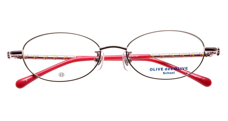 オリーブ・デ・オリーブ OD1102-2 [メタル/オーバル/ピンク]  3