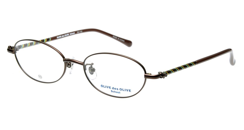 オリーブ・デ・オリーブ OD1102-3 [メタル/オーバル/茶色]
