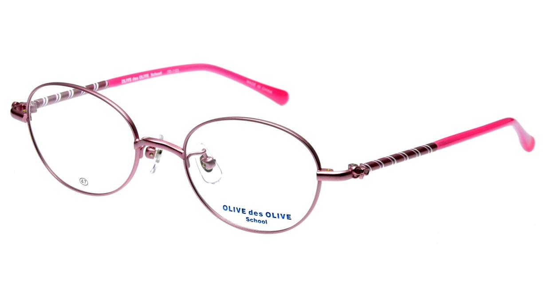 オリーブ・デ・オリーブ OD1103-2 フルリム ピンク フレーム  メガネのオーマイグラス_0