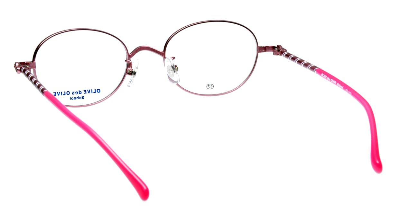 オリーブ・デ・オリーブ OD1103-2 フルリム ピンク フレーム  メガネのオーマイグラス_2
