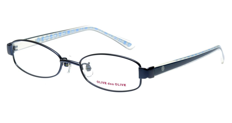 オリーブ・デ・オリーブ ODH034-1 フルリム 青 フレーム  メガネのオーマイグラス_0