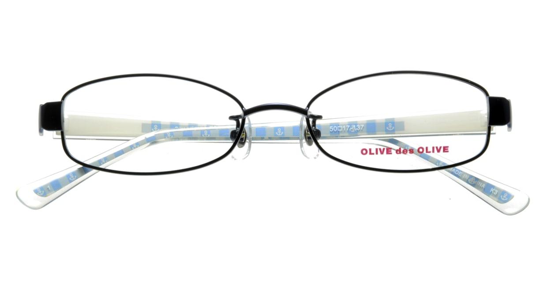 オリーブ・デ・オリーブ ODH034-1 フルリム 青 フレーム  メガネのオーマイグラス_3