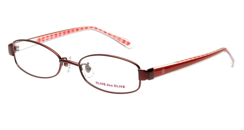 オリーブ・デ・オリーブ ODH034-2 フルリム 赤 フレーム  メガネのオーマイグラス_0