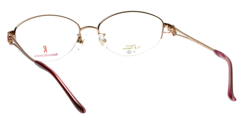 ロベルタ・ディ・カメリーノ RB1086-1 ハーフリム 茶色 フレーム  メガネのオーマイグラス_2