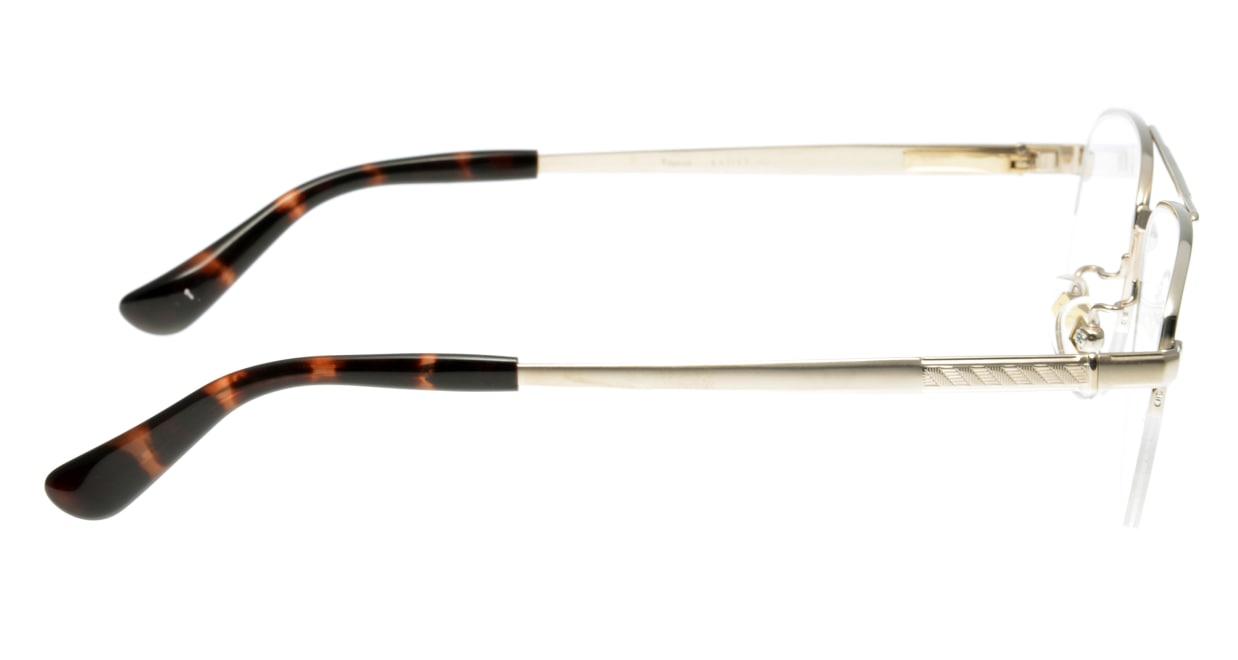 ロンソン RS1035-1 [メタル/鯖江産/ハーフリム/スクエア/ゴールド]  1