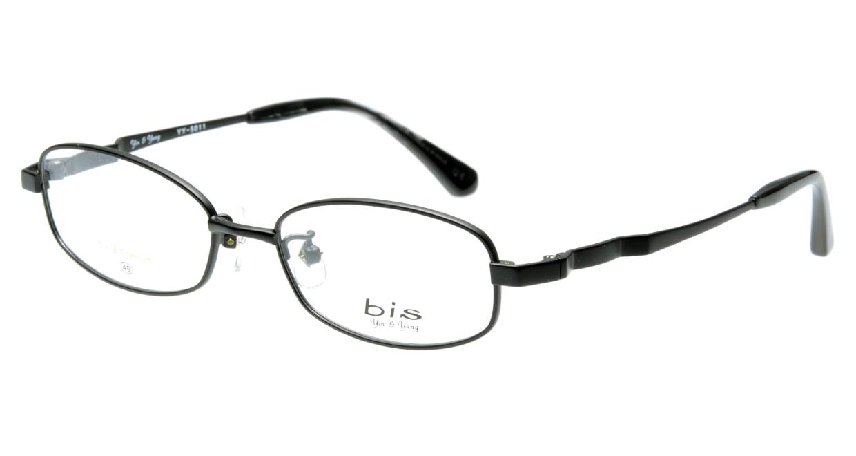 インアンドヤン YY5011-4 フルリム 黒 フレーム  メガネのオーマイグラス_0