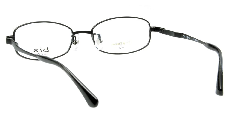 インアンドヤン YY5011-4 フルリム 黒 フレーム  メガネのオーマイグラス_2
