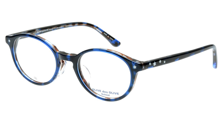 オリーブ・デ・オリーブ OD5066-3 [丸メガネ/青]