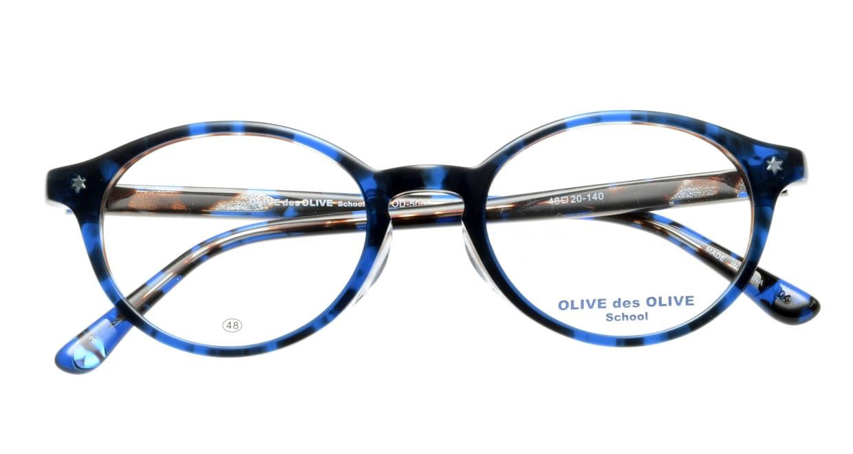 オリーブ・デ・オリーブ OD5066-3 [丸メガネ/青]  3