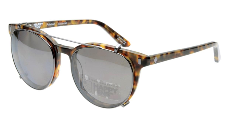 スパイ ALCATRAZ-DESERT TORT 偏光ミラーレンズ フルリム べっ甲柄 フレーム  メガネのオーマイグラス_0
