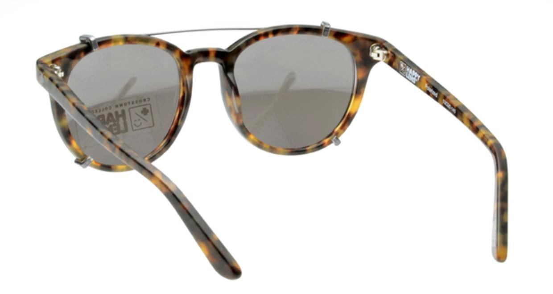 スパイ ALCATRAZ-DESERT TORT 偏光ミラーレンズ フルリム べっ甲柄 フレーム  メガネのオーマイグラス_2