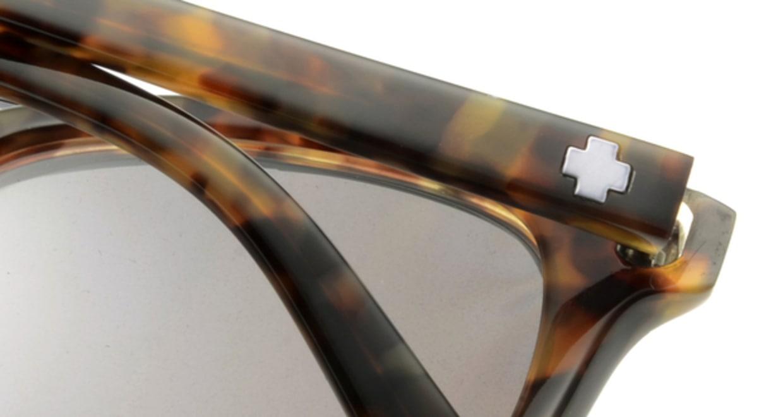 スパイ ALCATRAZ-DESERT TORT 偏光ミラーレンズ フルリム べっ甲柄 フレーム  メガネのオーマイグラス_4