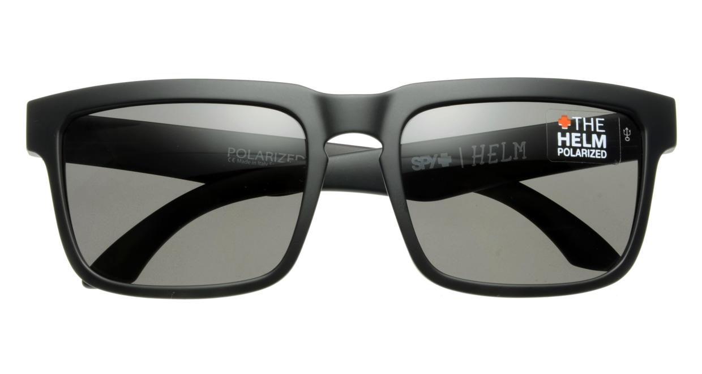 スパイ(SPY) スパイ HELM-MATTE BLACK-GREY 偏光レンズ
