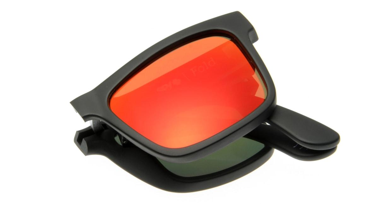 スパイ(SPY) スパイ THE FOLD-MATTE BLACK-BRONZE w/RED SPECTRA