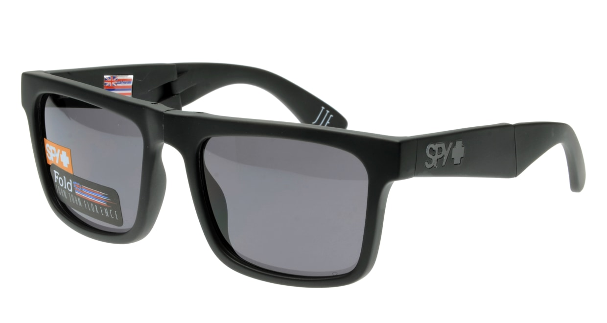 スパイ(SPY) スパイ THE FOLD-MATTE BLACK-GREY