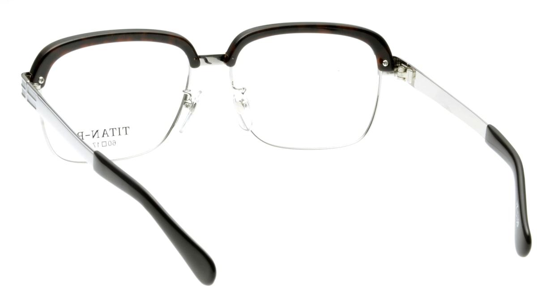 グランダム VT-5800-W/ミンク-60 [メタル/鯖江産/スクエア/茶色]  2