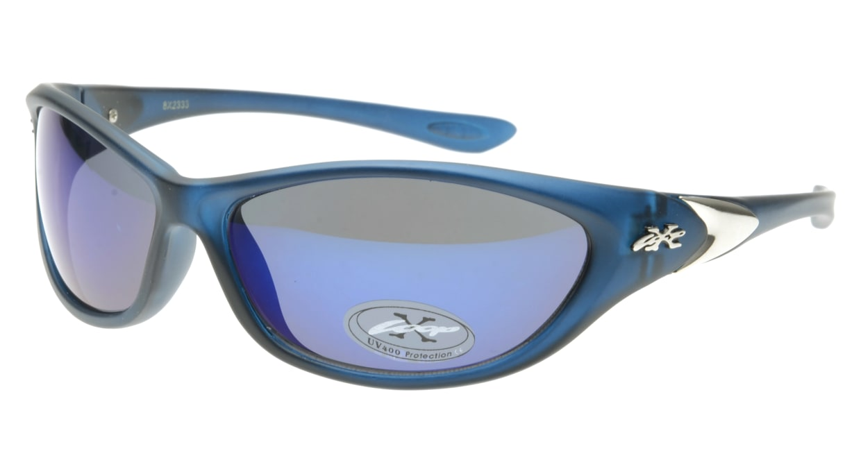 スポーツサングラス X-LOOP-8X2333-Blue [スクエア/安い]
