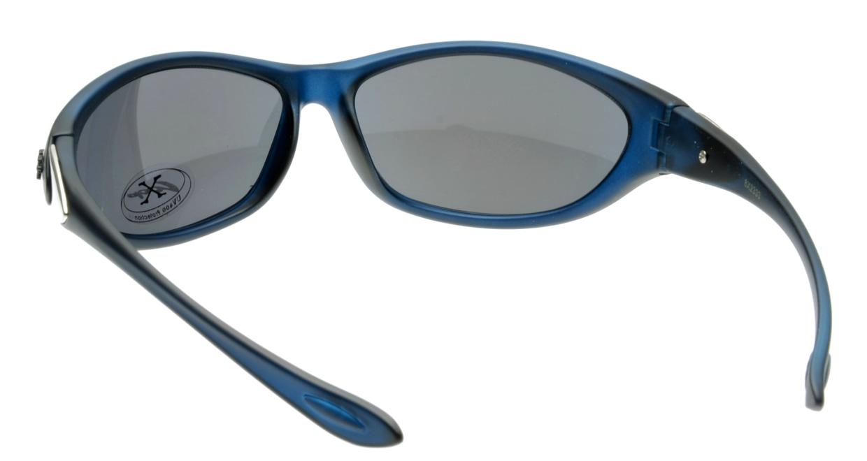 スポーツサングラス X-LOOP-8X2333-Blue [スクエア/安い]  2
