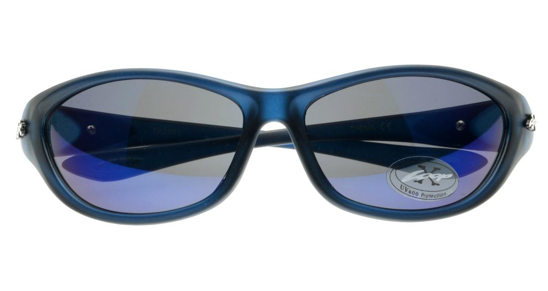 スポーツサングラス X-LOOP-8X2333-Blue [スクエア/安い]  3