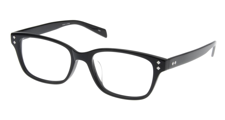 家メガネ 8180-C-1 フルリム 黒 フレーム  メガネのオーマイグラス_0