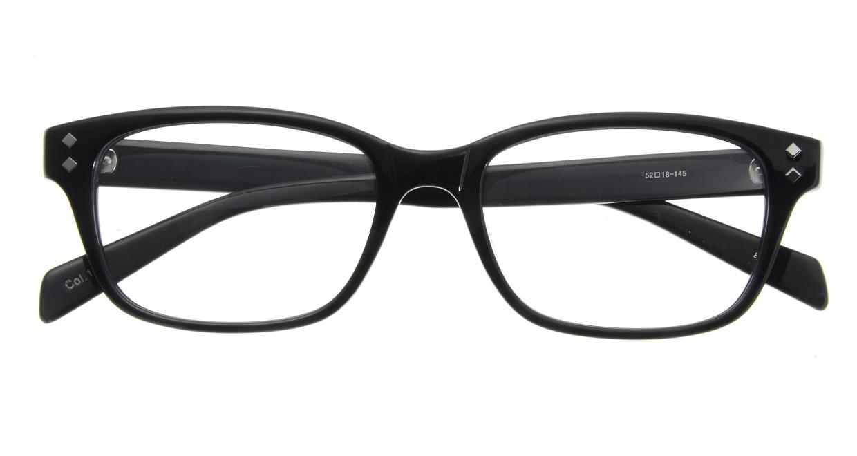 家メガネ 8180-C-1 フルリム 黒 フレーム  メガネのオーマイグラス_3