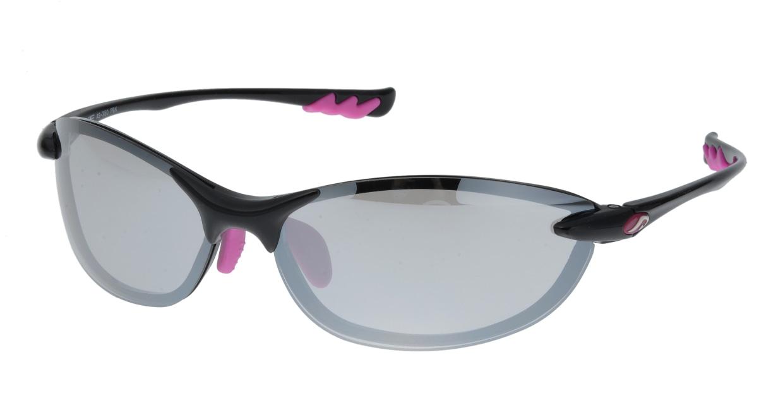 アックス AS-350-PBK フルリム 黒 サングラス  メガネのオーマイグラス_0