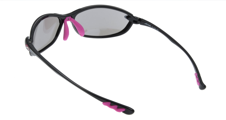 アックス AS-350-PBK フルリム 黒 サングラス  メガネのオーマイグラス_2