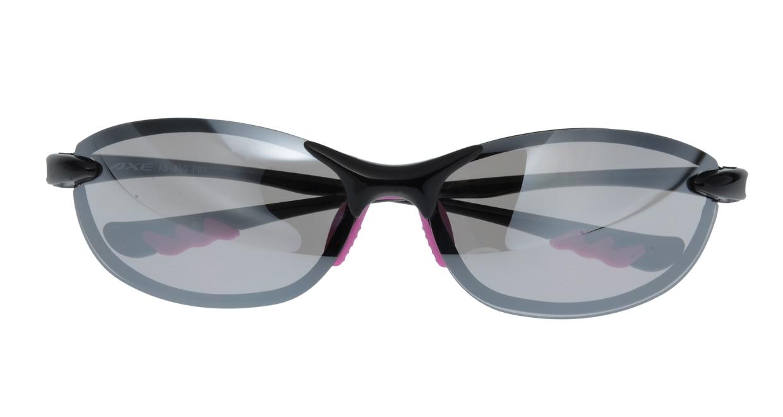 アックス AS-350-PBK フルリム 黒 サングラス  メガネのオーマイグラス_3